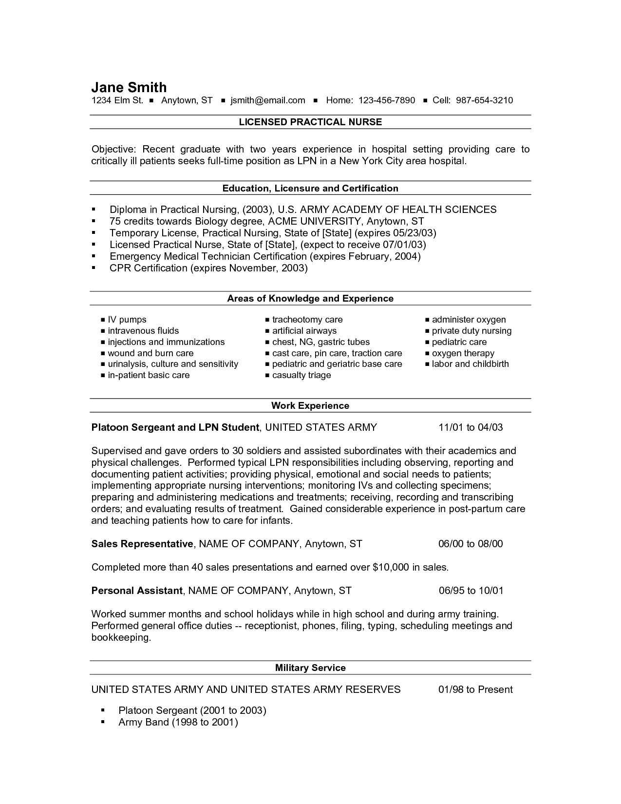 Pediatric Nurse Resume Objective  HttpWwwResumecareerInfo