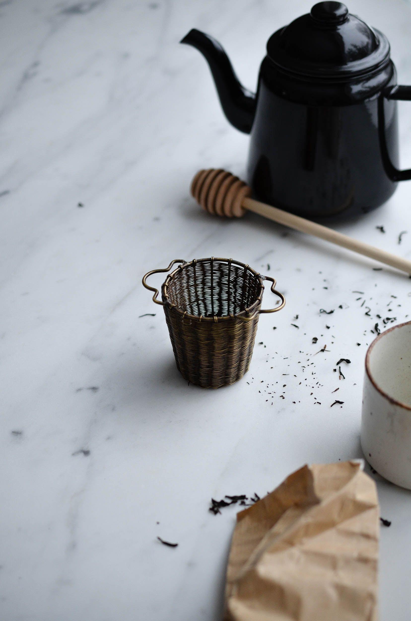 tea strainer basket
