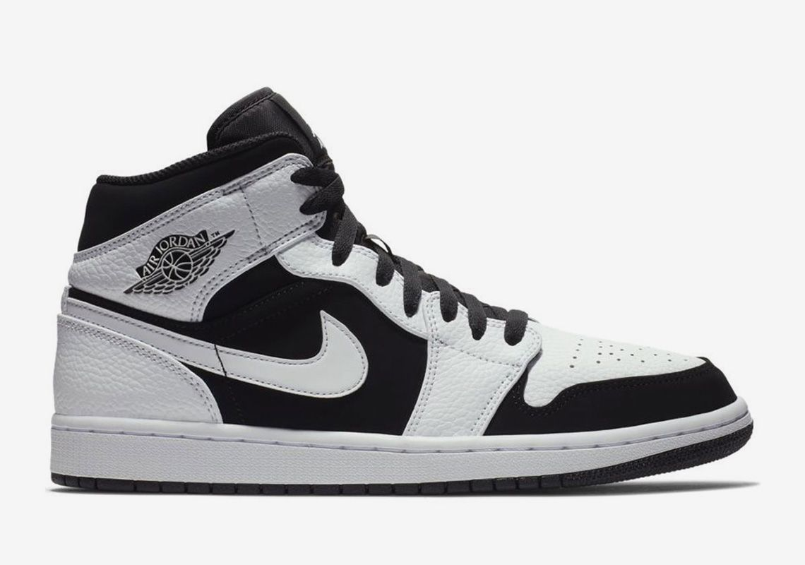 brand new cdaea 00f3f feature image Jordan 1 Mid, Jordan Retro, Tuxedo Shoes, Air Jordans, Jordans