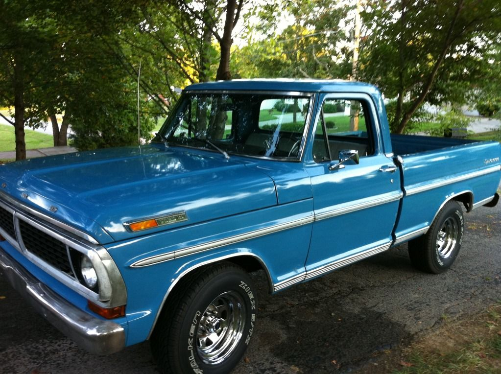 If I didn\'t have kids, I would probably drive around an old Ford ...