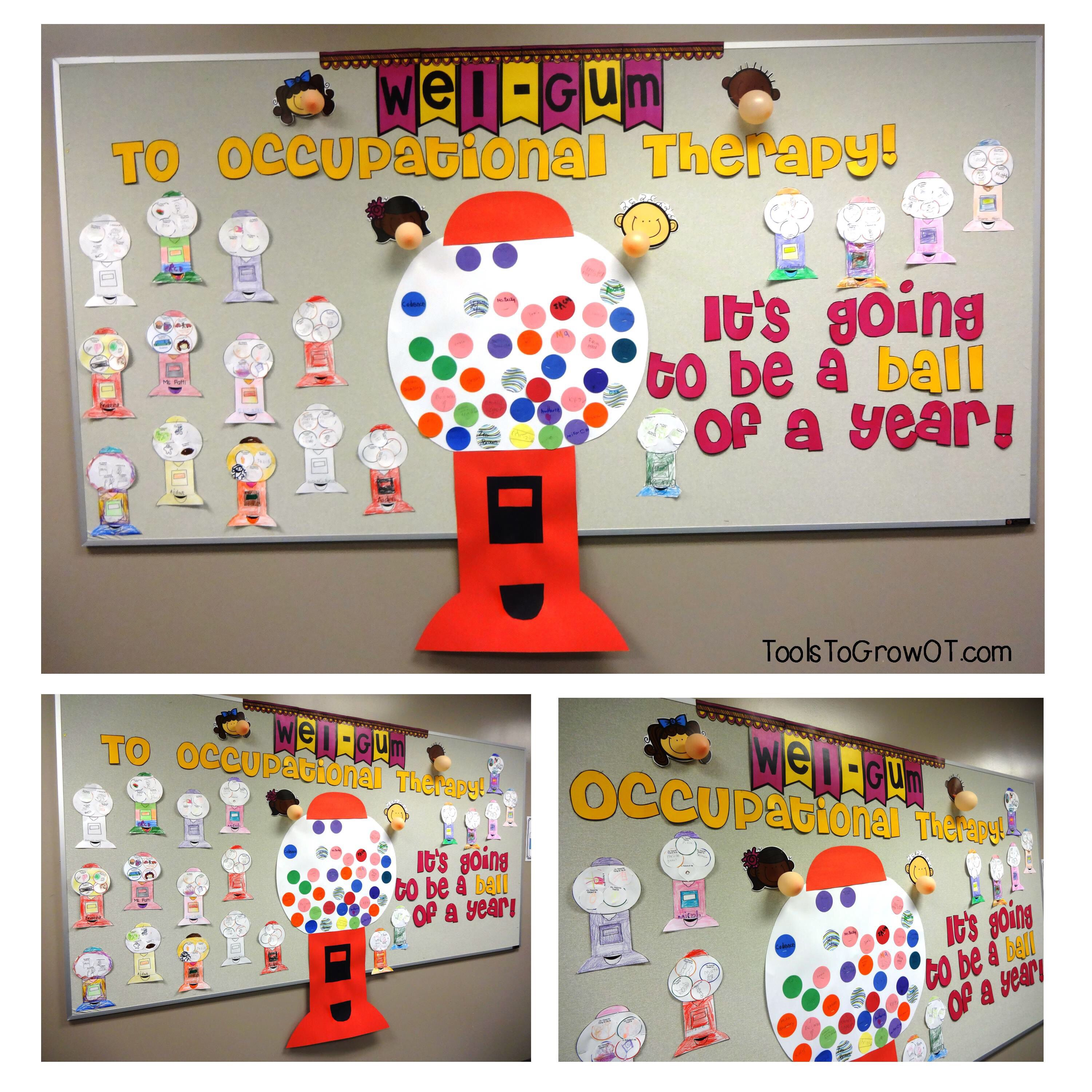 Back To School Occupational Therapy Bulletin Board Wel