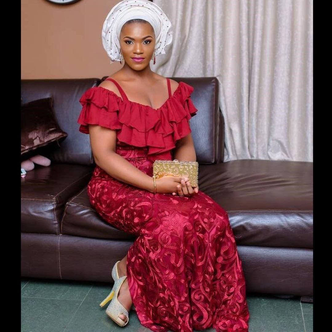 There are a number of ways to enable yourself look superb with an aso ebi styleNigerian Yoruba dress styles , Even if you are contemplating about what to create and slay with an Nigerian Yoruba dress styles. Nigerian Yoruba dress styles for parties arrive in a lot of patterns and designs.   The African print styles beauty of this print is that it comes in many designs and textures. Ankara will permit you make a correspond of any cloth without losing the Ankara designs flair. #nigeriandressstyles