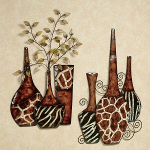 African Metal Wall Art Makipera Com African Paintings African Art Paintings Africa Painting
