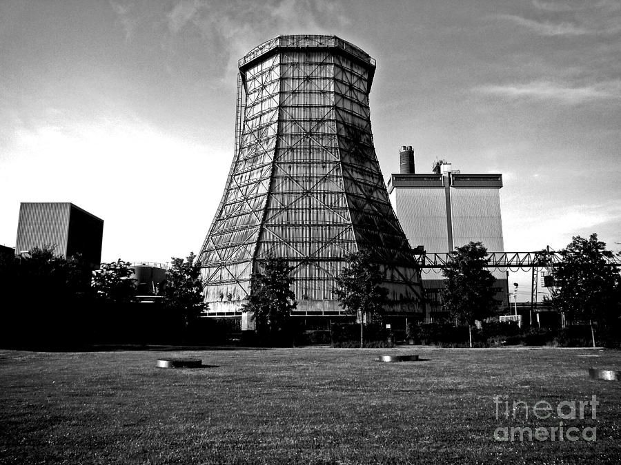 Cooling Tower Photograph Old Wooden Cooling Tower By Andy Prendy
