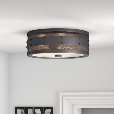 Trent austin design denver 3 light flush mount finish oil rubbed bronze