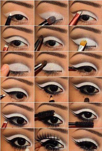 How To Do 60s Mod Makeup Schminkzeug Halloween Gesicht