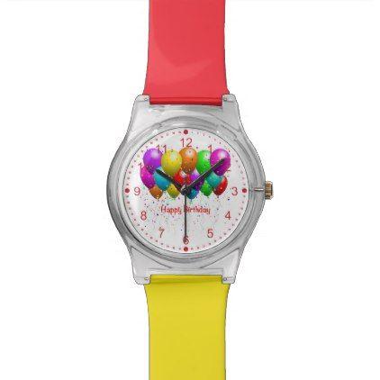 Happy Birthday May 28th Watch Red Kids Birthday Gift Idea