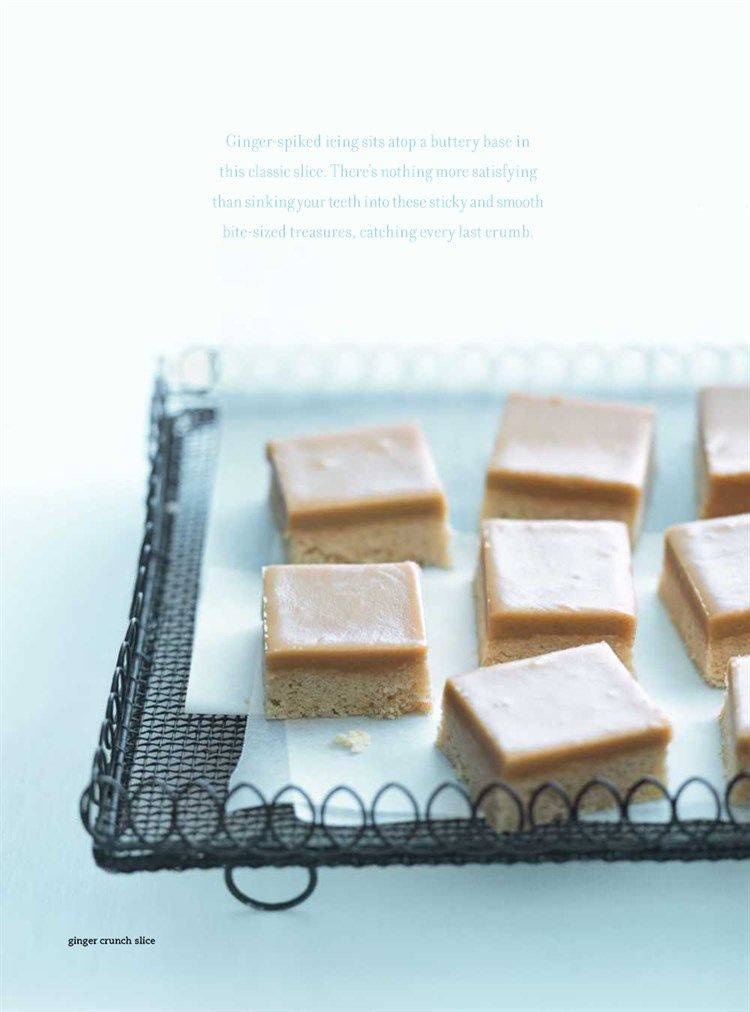 Donna hay ginger crunch slice baked goodies pinterest food donna hay ginger crunch slice ccuart Images