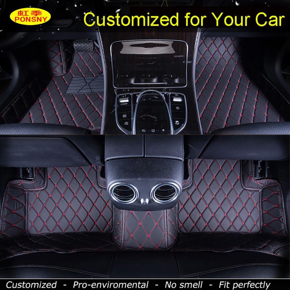 Ponsny Car Floor Mats For Honda Crv Accord 7 8 9 Odyssey Elysion Fit Us 118 80 Custom Car Floor Mats Car Floor Mats Interior Accessories