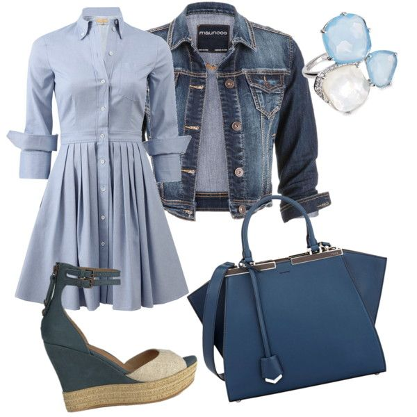 A fashion look from September 2015 by larkspar featuring Michael Kors, maurices, UGG Australia, Fendi and Nadri