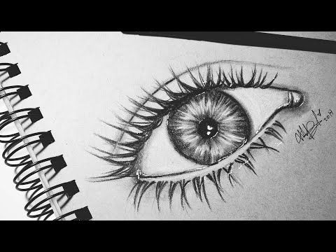 Como Dibujar Un Ojo Semi Realista Como Dibujar Y Pintar Un Ojo Youtube Dibujos De Ojos Como Dibujar Ojos Como Dibujar Unos Ojos