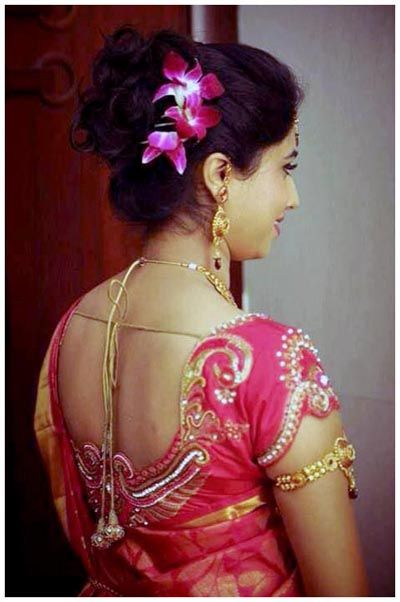 awesome The Best Models of Hairstyles for Indian Wedding Reception ...