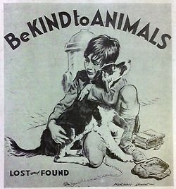 Be kind to animals.