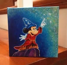Easy Disney Acrylic Paintings Google Search Disney Canvas