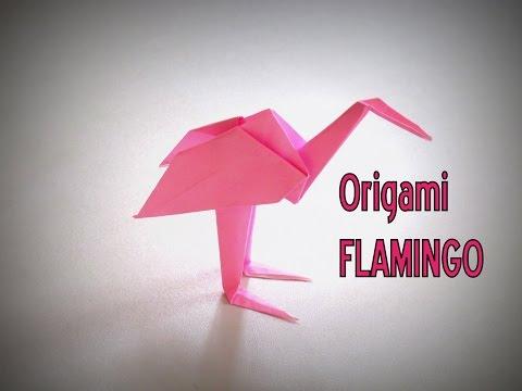 Photo of Origami – How to make a FLAMINGO