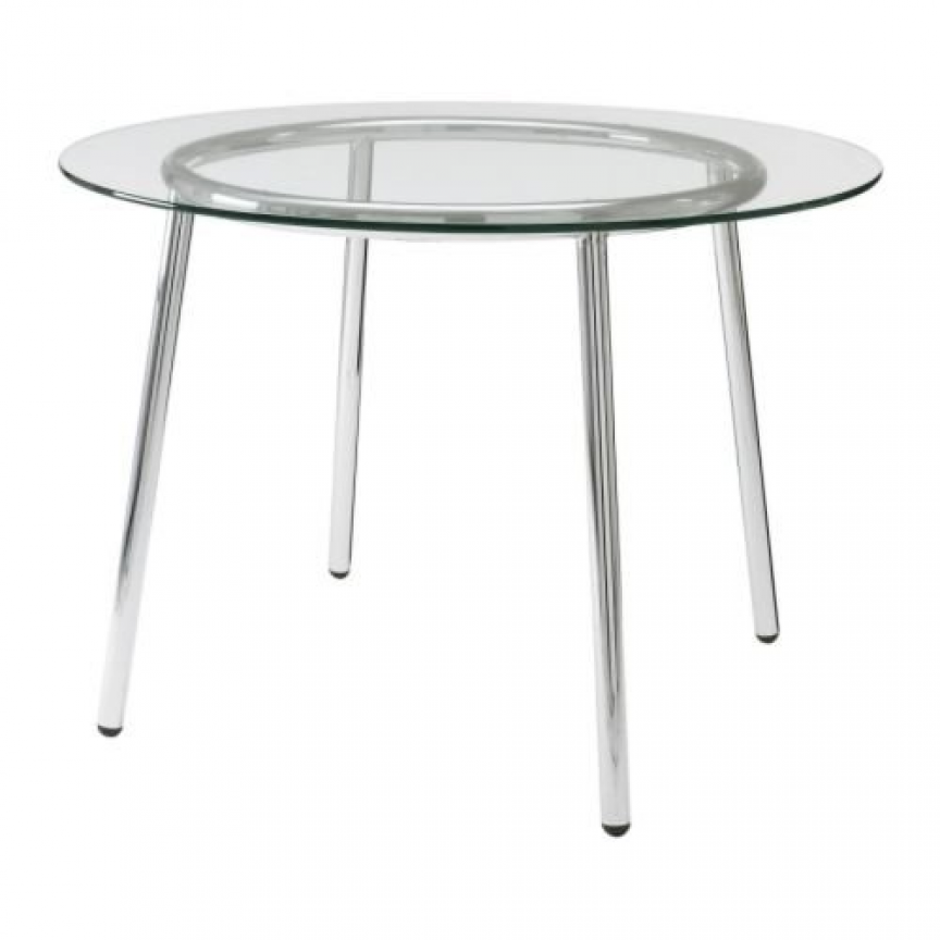 Ikea Salmi Dining Table Glass Round Dining Table Glass Top