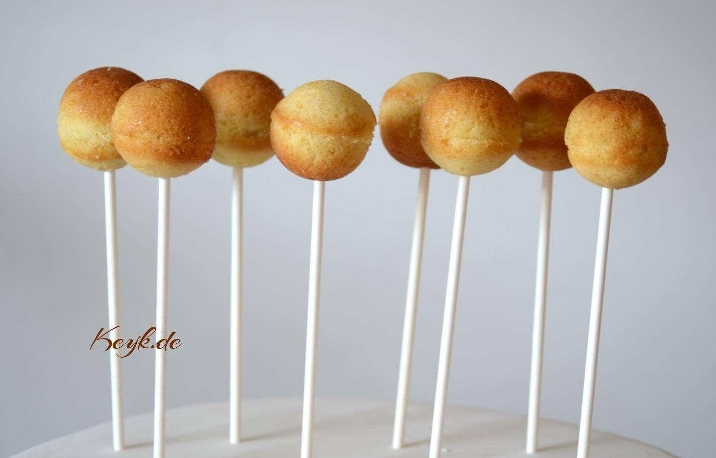 Cake Pop Rezept für Silikonform (Vanille)