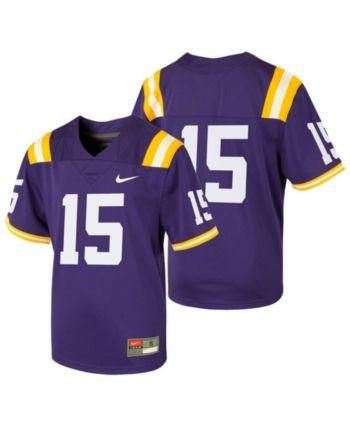 timeless design 33a60 a3951 Nike Lsu Tigers Replica Football Game Jersey, Little Boys (4 ...
