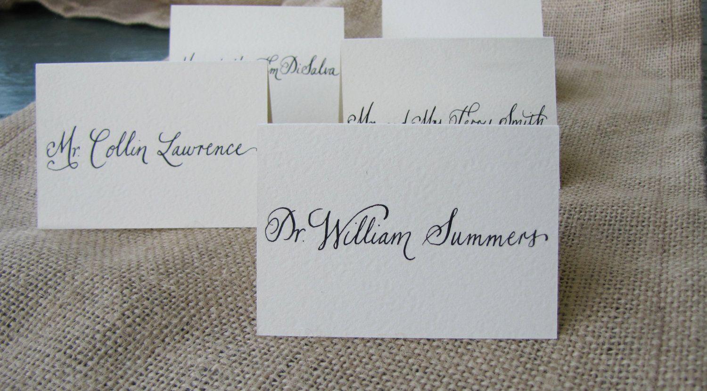 love the calligraphy  Wedding name cards, Wedding name, Fancy wedding