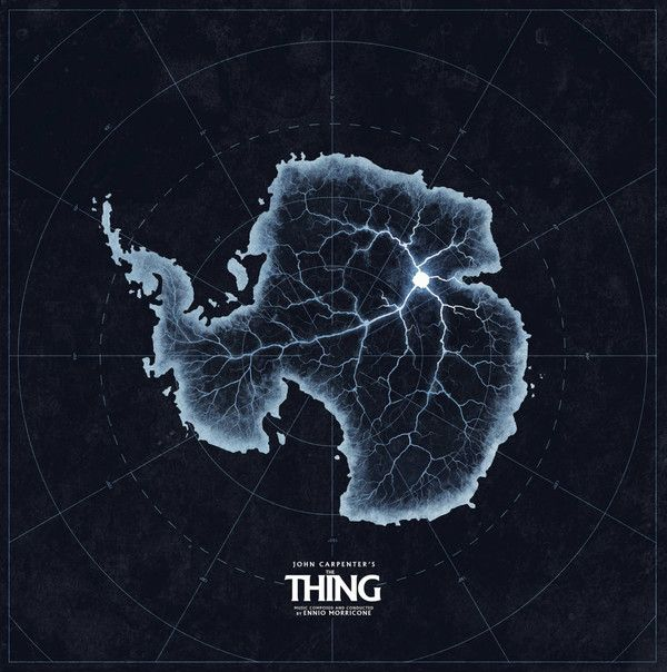 Ennio Morricone The Thing Original Motion Picture Soundtrack Vinyl Lp Album At Discogs John Carpenter The Thing Movie Poster Waxwork