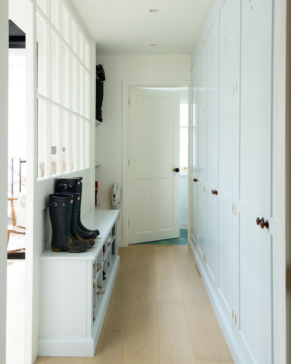 Devol Kitchens On Instagram Classic English Cupboards Are Not Just For Your Kitchen These Customers Had A Lot Of Coats And Bo Devol Kitchens Devol Boot Room