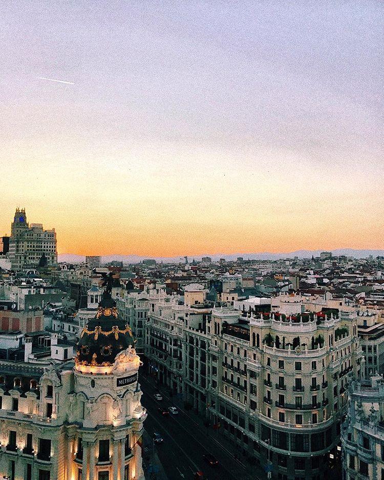 Andrea Belver Sezzy Views Madrid Azotea Circulo