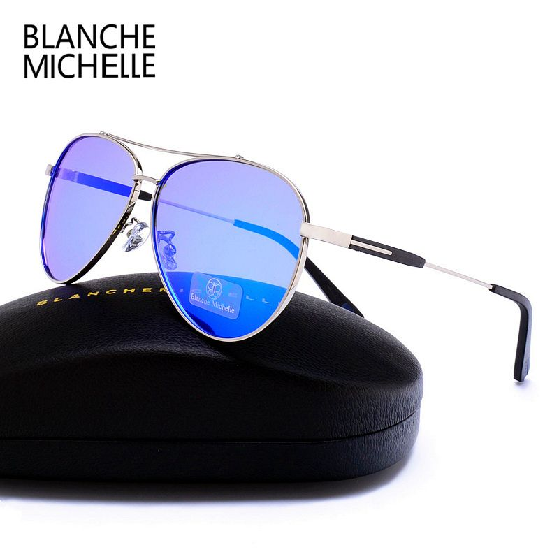 22c14f6033 2017 New Luxury Polarized Sunglasses Men Women Brand Designer UV400 vintage  Driving Fishing Sun Glasses oculos de sol masculino.