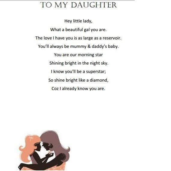 Personalised/custom poems for your beautiful little angel. by SayItBySaint on Etsy