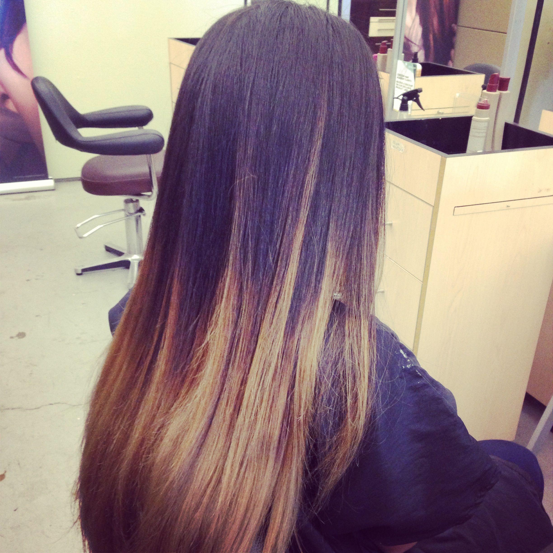 Ombré done by Mallory  Carlton Hair in Newport Beach CA  Hair