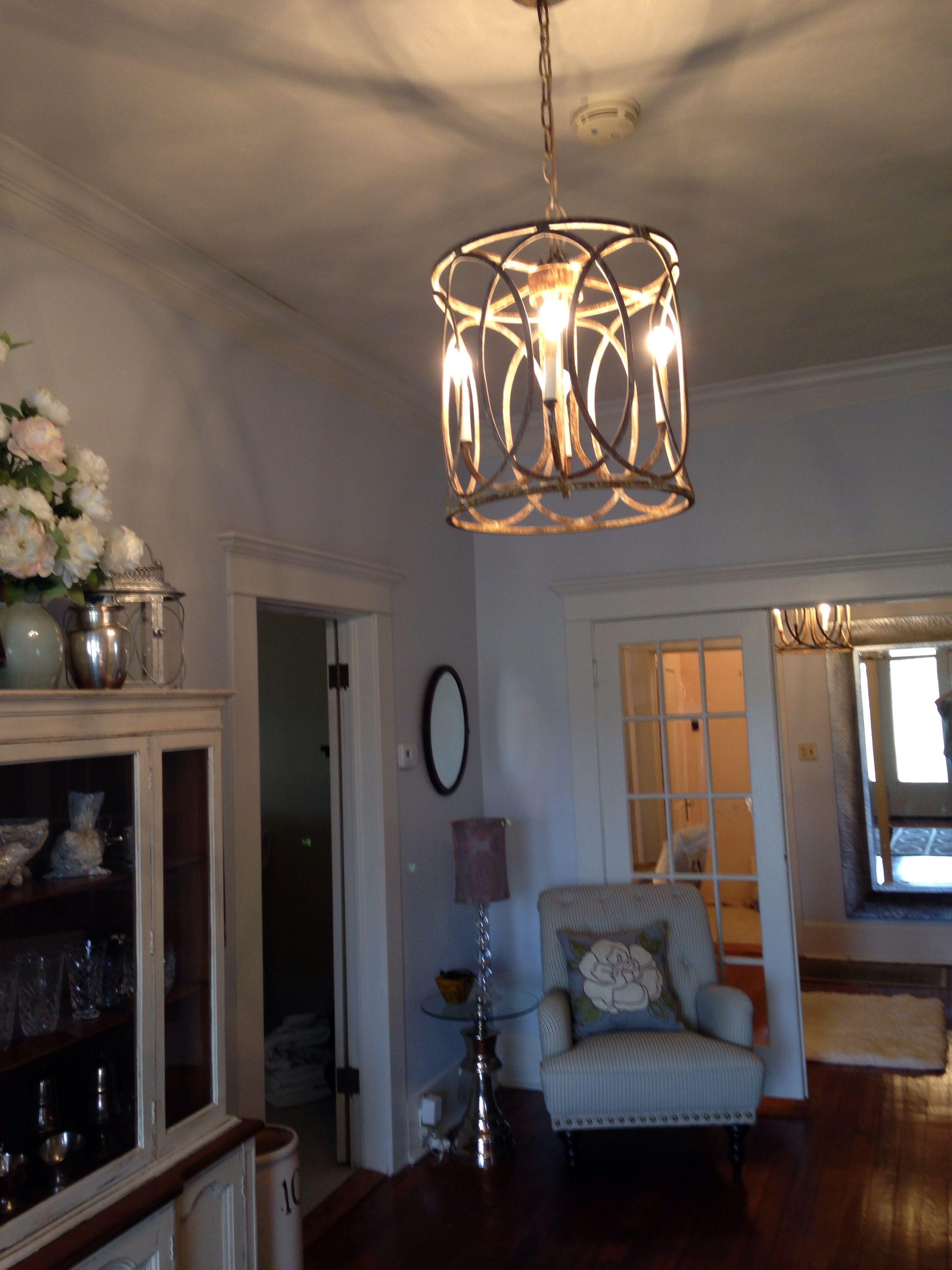 Foyer light fixture | Foyer lighting, Foyer flooring, Home ...