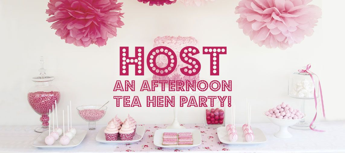 Host An Afternoon Tea Hen Party