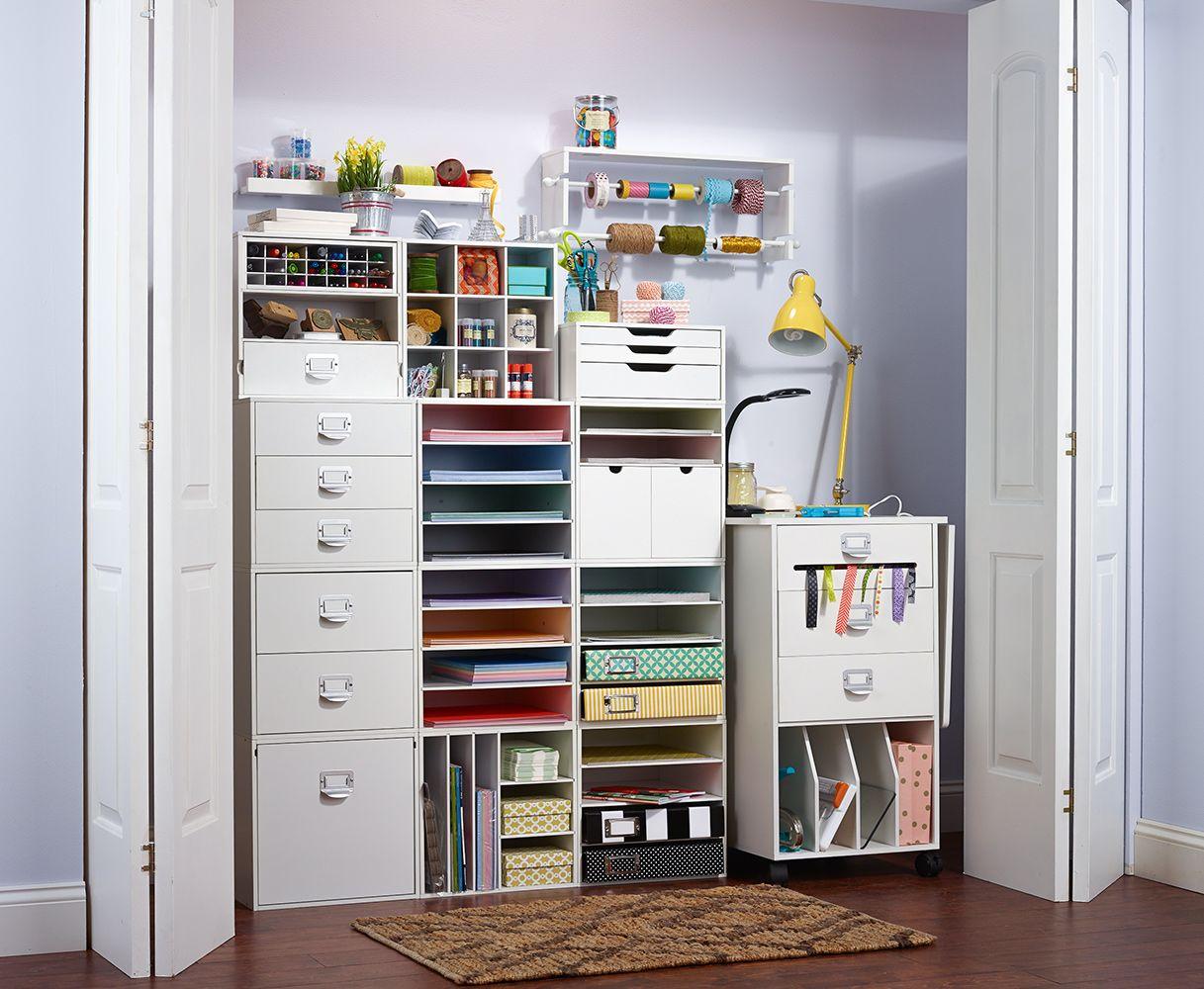 Closet creativity zones decorating ideas craft rooms pinterest