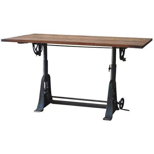 Attractive Industrial Mercantile Large Drafting Table 67u0027u0027L X 30u0027u0027Tall ...