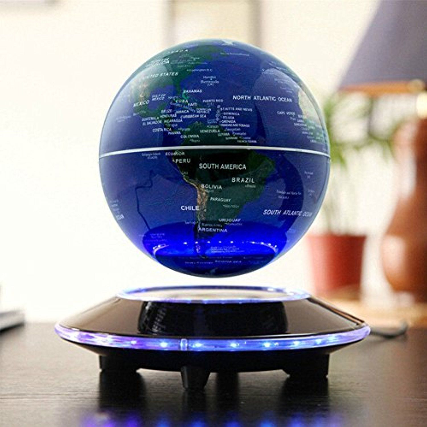 Magnetic globe sunkax easy magnetic levitation floating globe world magnetic globe sunkax easy magnetic levitation floating globe world map for education office decorationbirthday presentchristmas gift gumiabroncs Gallery