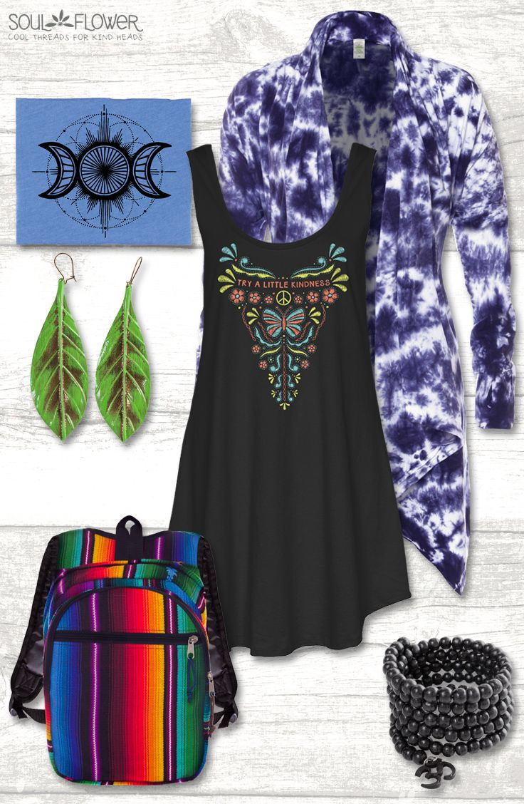 353b839dd54 Perfect hippie back-to-school outfit!  boho  fairtrade  madeinusa  organic