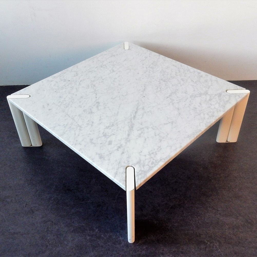 For Sale Vintage White Marble Coffee Table 1970s Marble Coffee Table Coffee Table White Marble