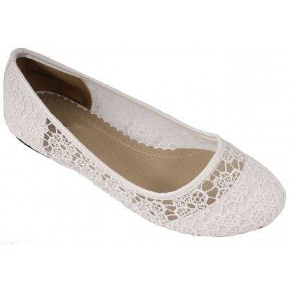 chaussure ballerine blanche. Black Bedroom Furniture Sets. Home Design Ideas