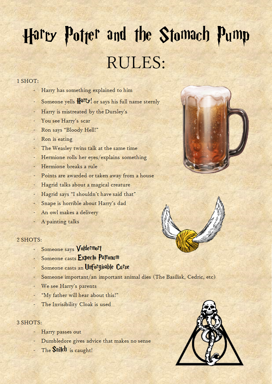 Lord Of The Rings Drinking Game Imgur