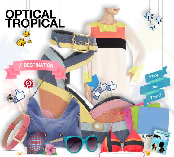 Optical tropical - shopthemagazine.com #destination #holiday #summer #tropic