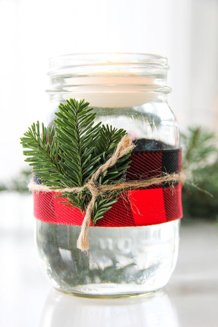 minute christmas mason jar candles mvp recipes pinterest