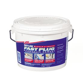 Shop Ugl 4 Lbs Drylok Fast Plug Hydraulic Cement At Lowes Com Cinder Block Walls Waterproofing Basement Cement