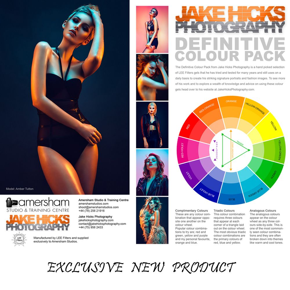 Our Exclusive Jake Hicks / Lee Filters Definitive Colour Gel