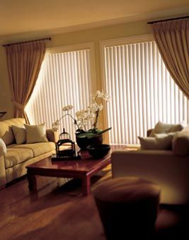 Exellent Vertical Blinds And Curtains Together Pictures S For Design Inspiration