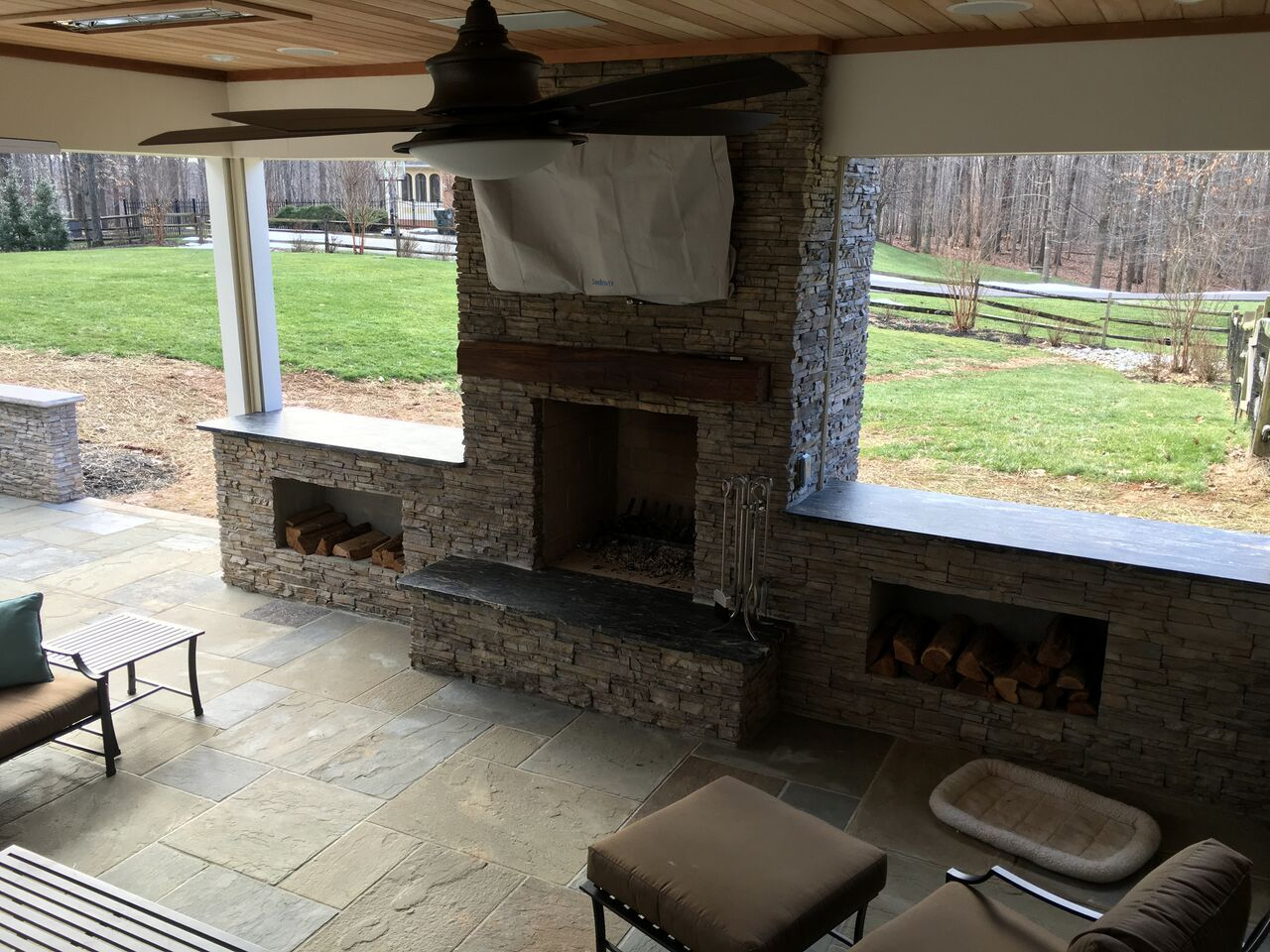 Top 3 Considerations For Building An Outdoor Wood Burning Fireplace