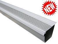Shop Micro Mesh K Style Aluminum Gutter Guard Gutter Guard Gutter Home Fix