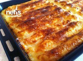 Buzdolabında 1 Gece Bekleyen Börek ( Zahmetsiz Börek) #طعام