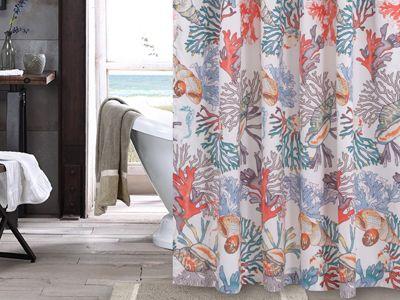 Atlantis Shower Curtain Greenland Home Fashions Curtains House