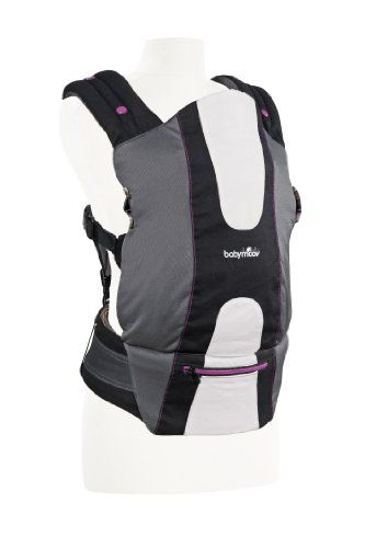 79edf0b7b4d Babymoov Physiological Baby Carrier Grey Hibiscus     More info could be  found at the