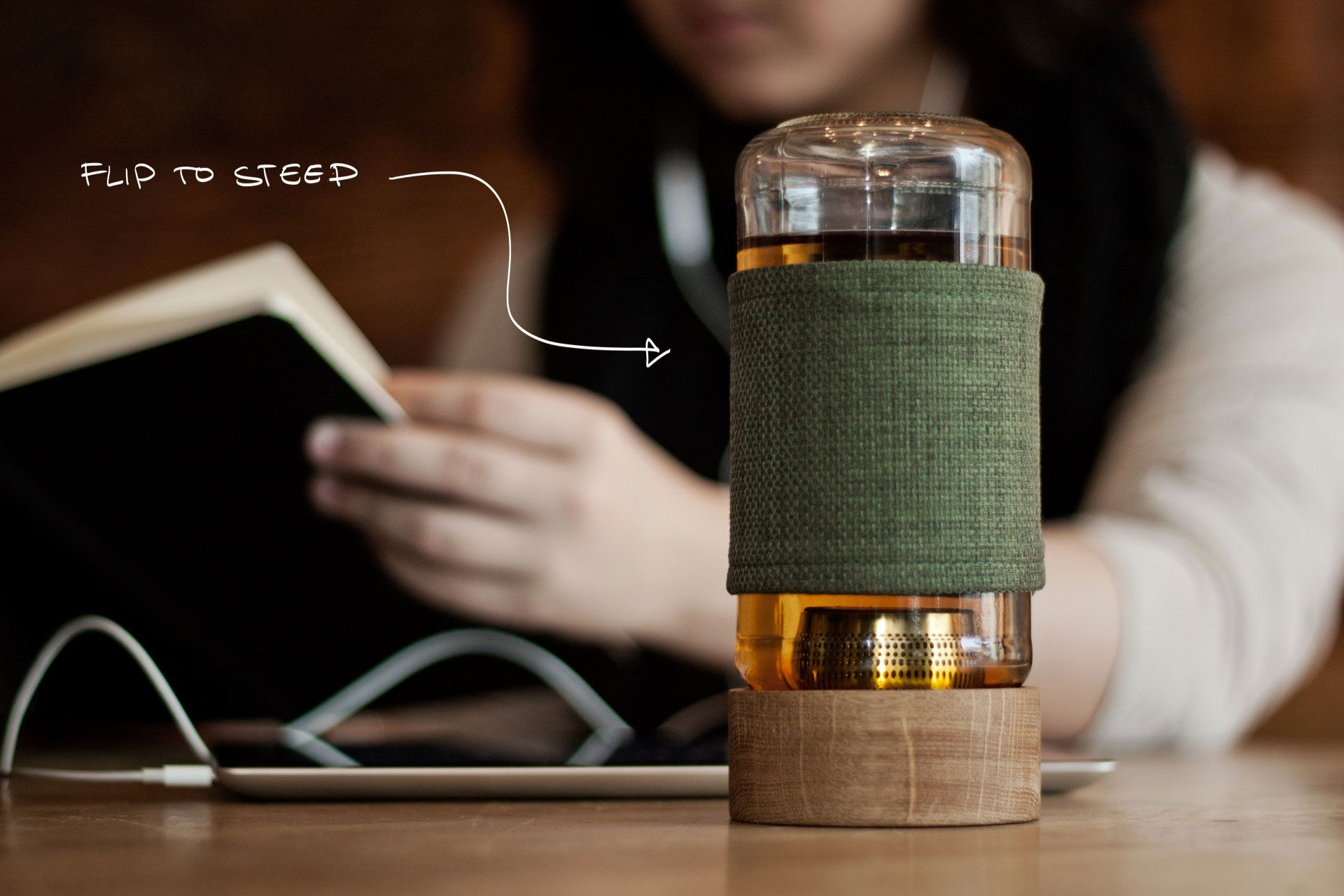 Imbue Tea Infuser and Reusable Mug (With images) Tea