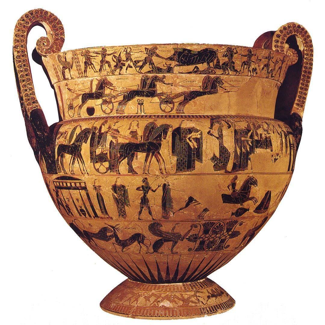 Comicstrips greek style the francois vase archaeology the francois vase archaeology pottery reviewsmspy